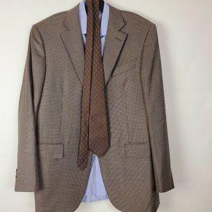 ERMENEGILDO ZEGNA Mens Sport Coat Jacket Blazer 42